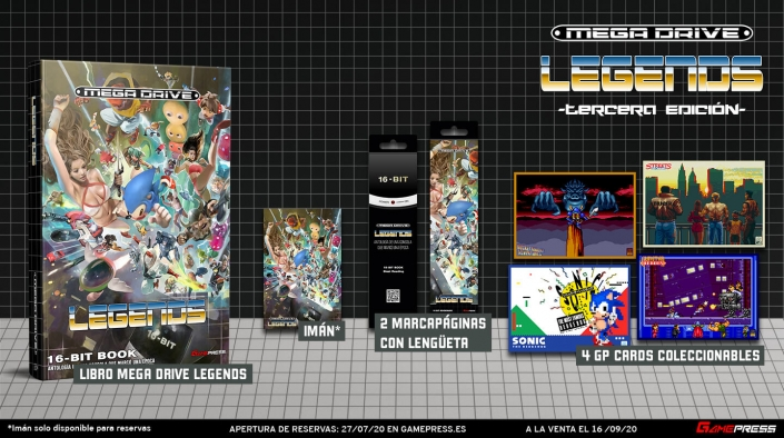 Mega Drive Legends + extras