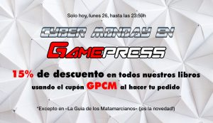 Cyber Monday en Game Press