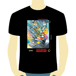 camiseta snes - chico